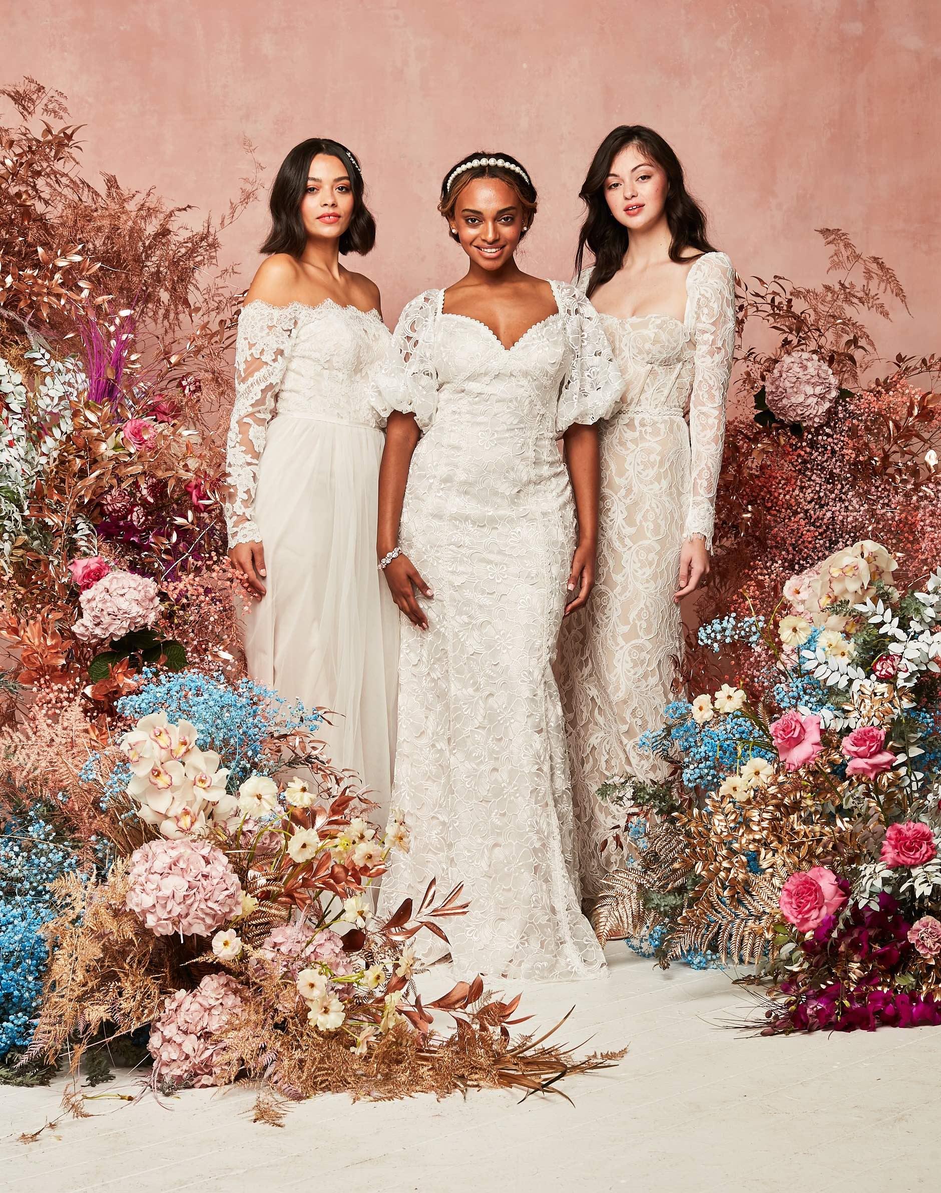 Statement Sleeve Bridal Grouping