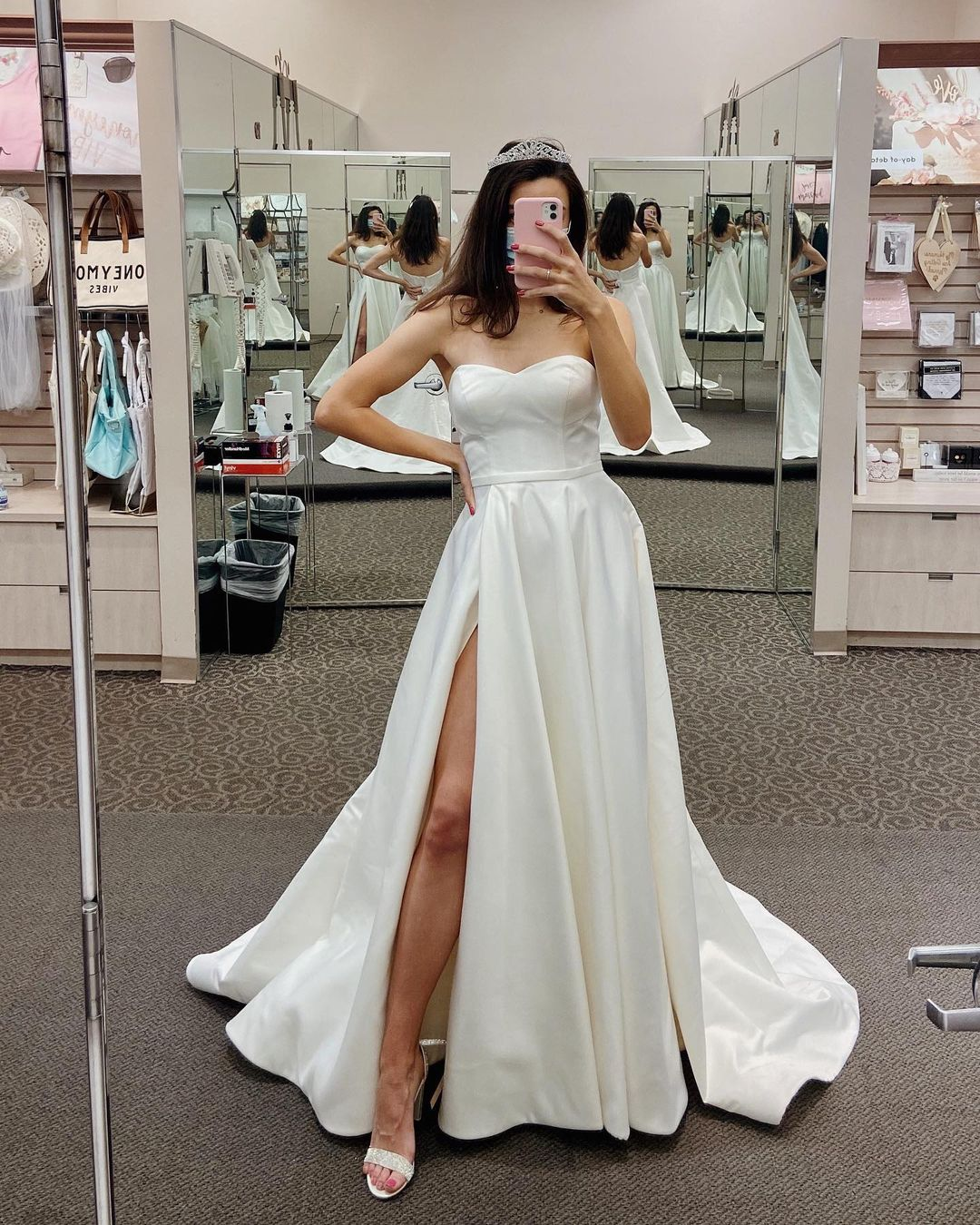Bride Babe in store takeover