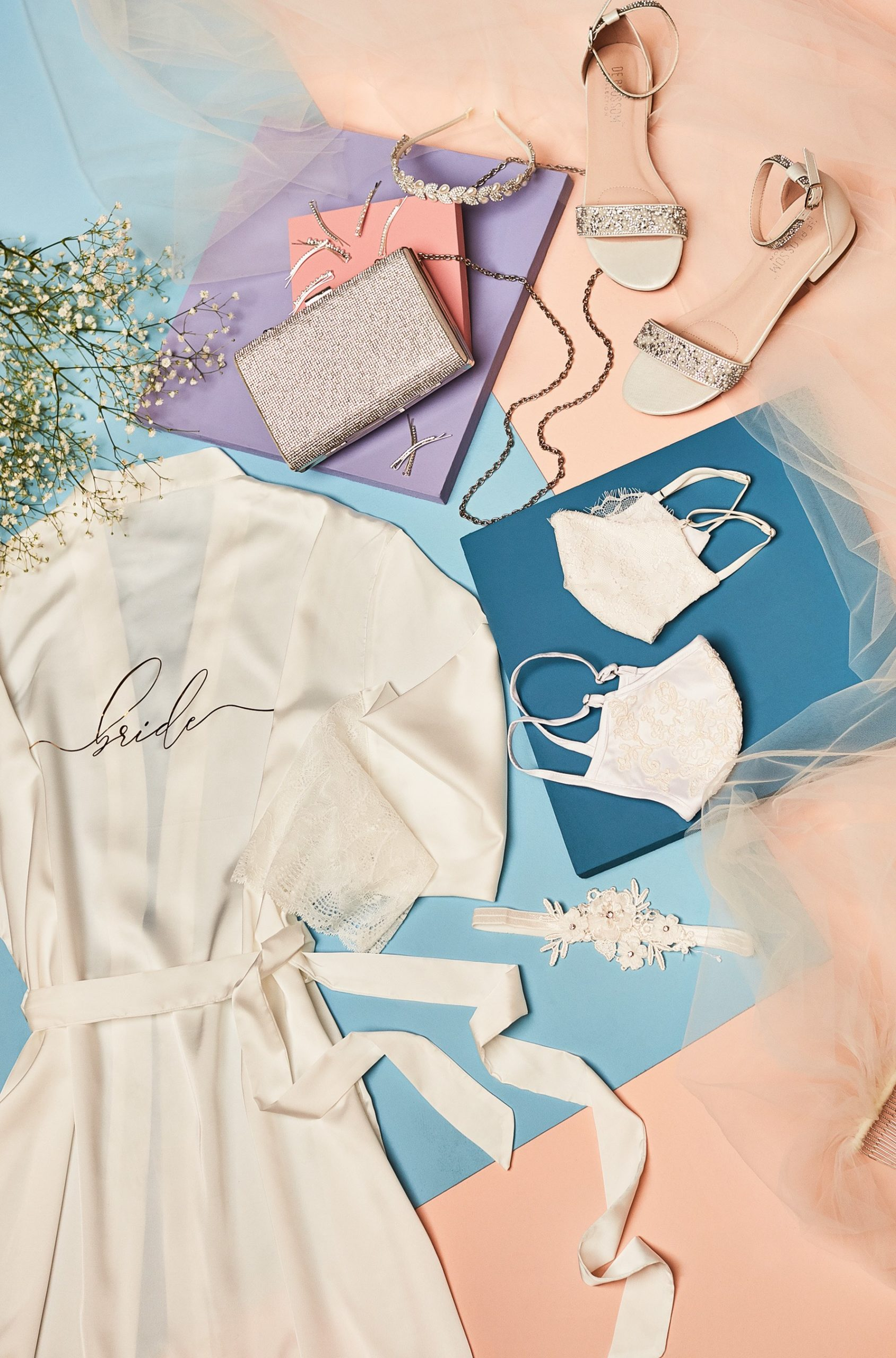 Casual Bridal Accessories