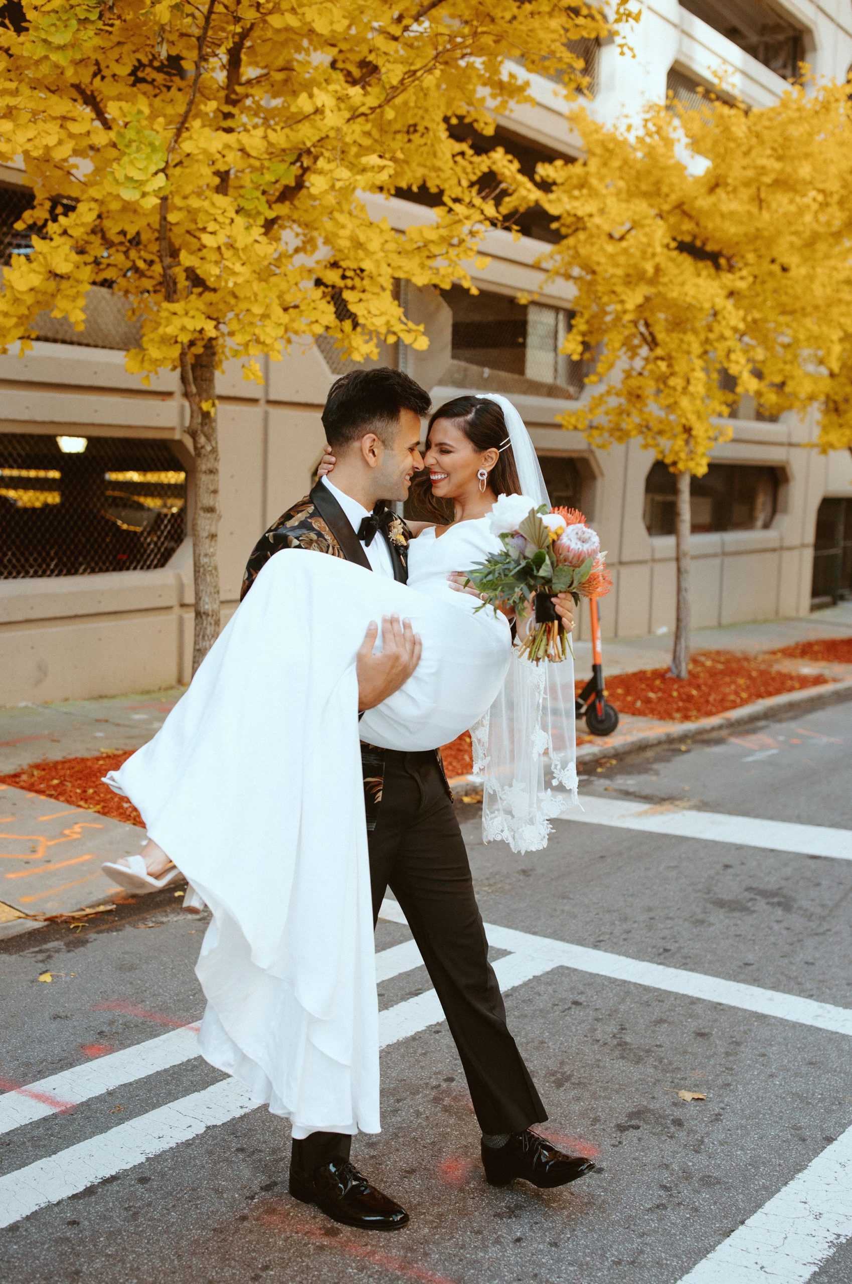 Sabrina and Sahir Atlanta Wedding Shoot