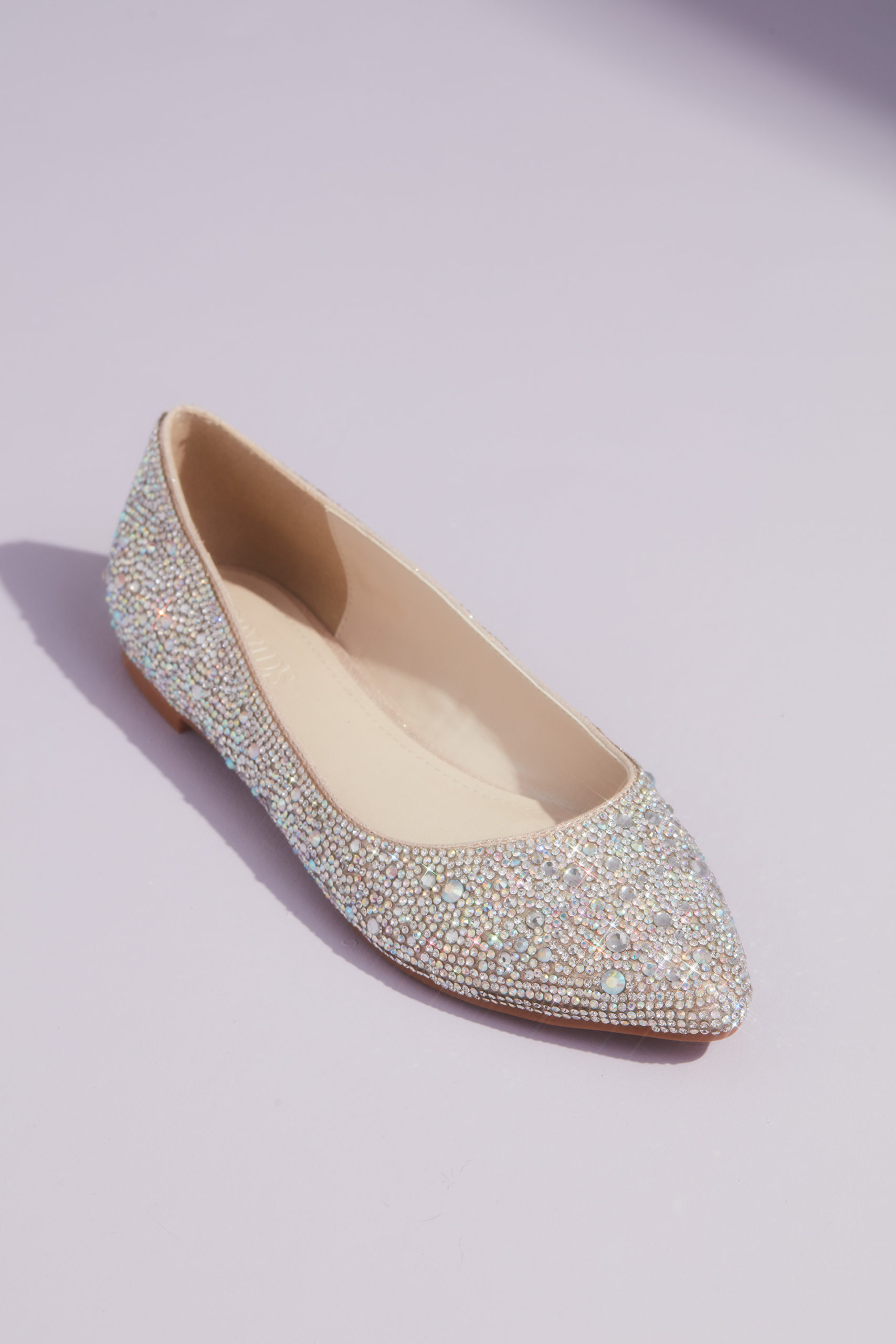 sparkly ballet flats for your quinceañera