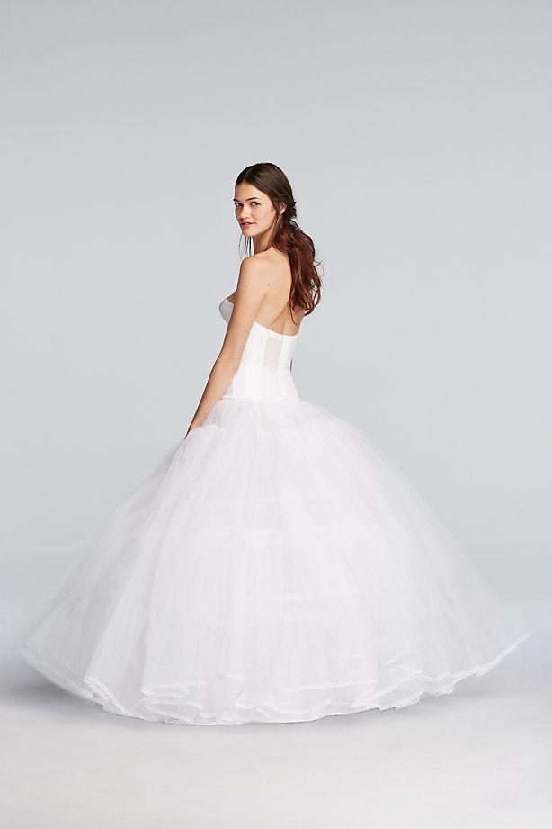 ball gown slip back