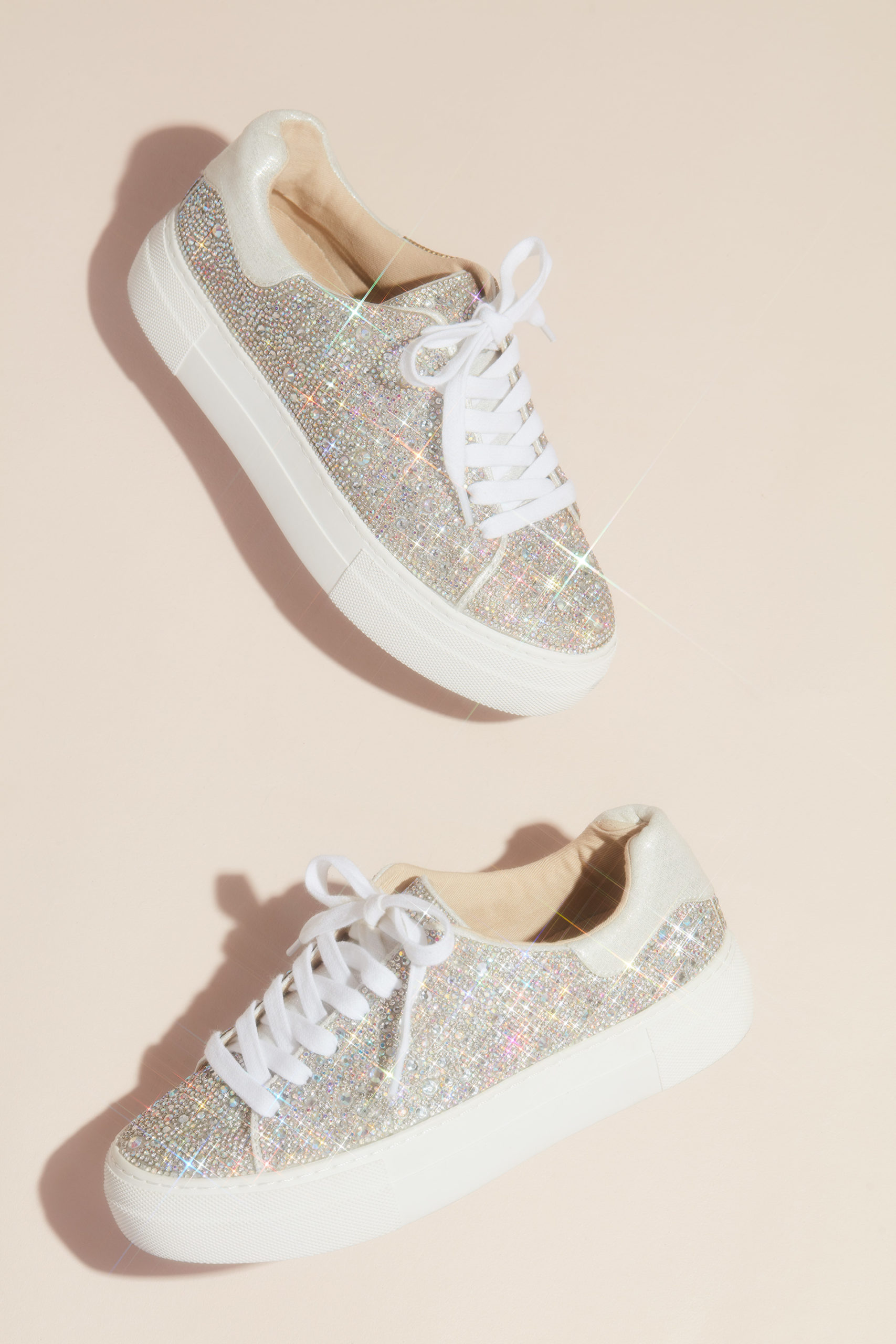 sparkly sneakers for your quinceañera