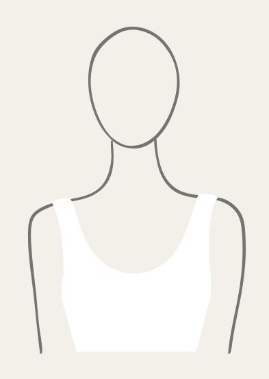 Illustration of Scoop Neckline.