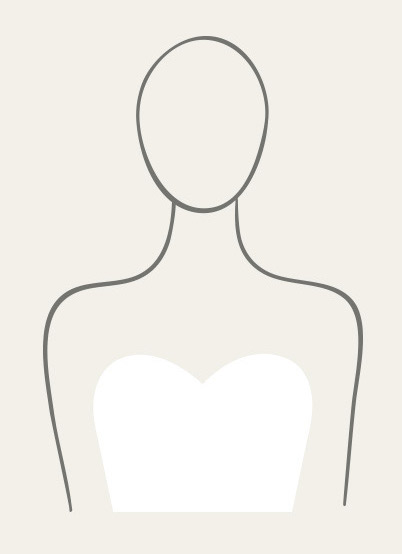 Illustration of Sweetheart Neckline Wedding Dress Type.