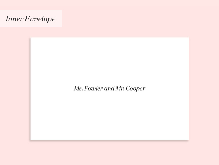 invitation to unmarried couple living together